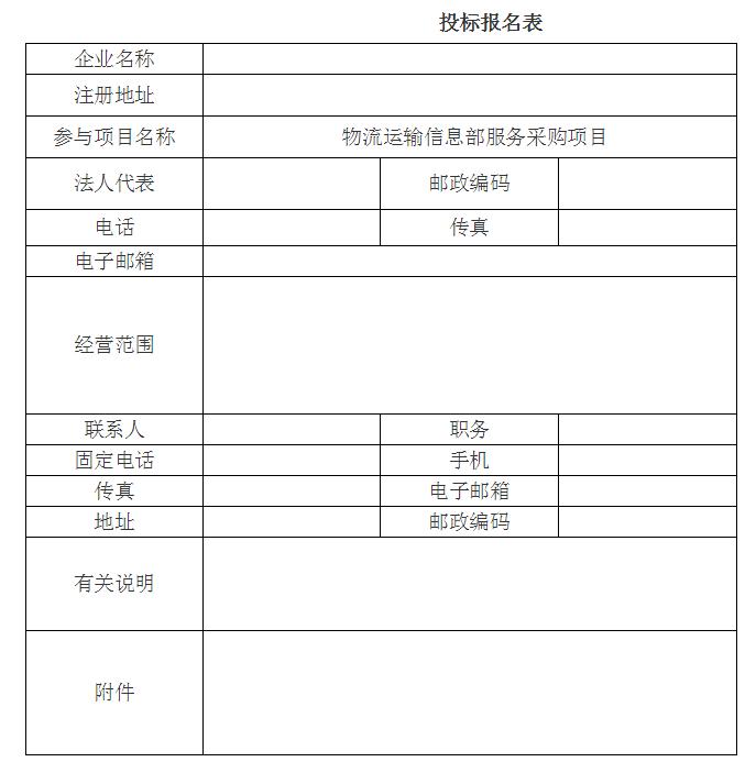 内蒙古蒙草草种业有限公司物流运输信息部服务采购项目竞争性谈判公告